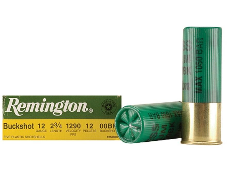 Remington Express Ammo 12 Ga 2-3/4 00 Buckshot 12 Pellets - MPN: 20632