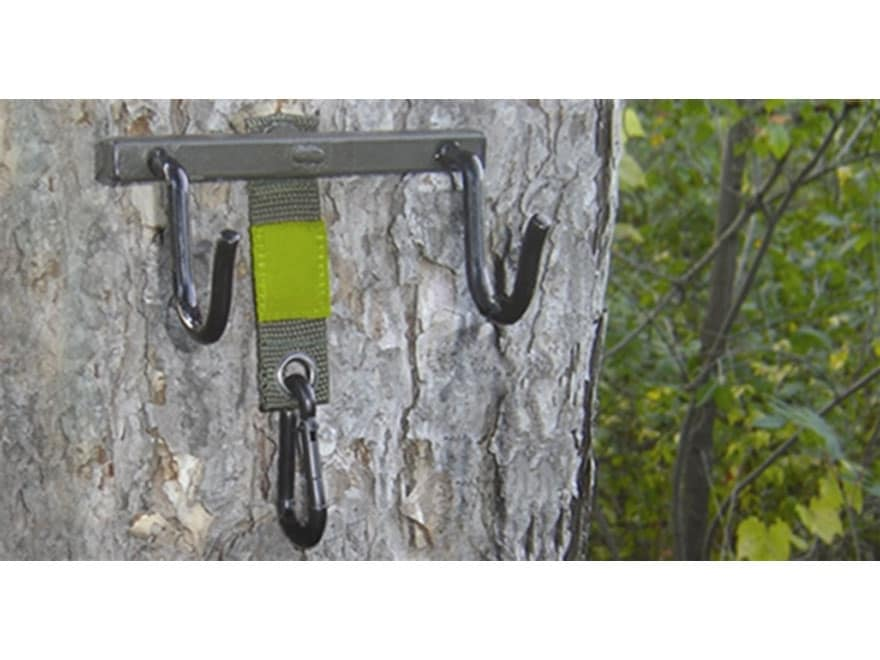 HME Hunter's Accessory Hanger Steel Green
