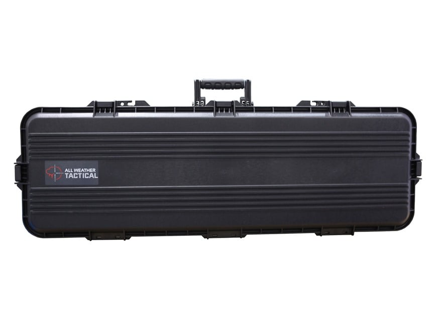 """Plano AW All Weather Series 42"""" Tactical Rifle Case Polymer Black"""