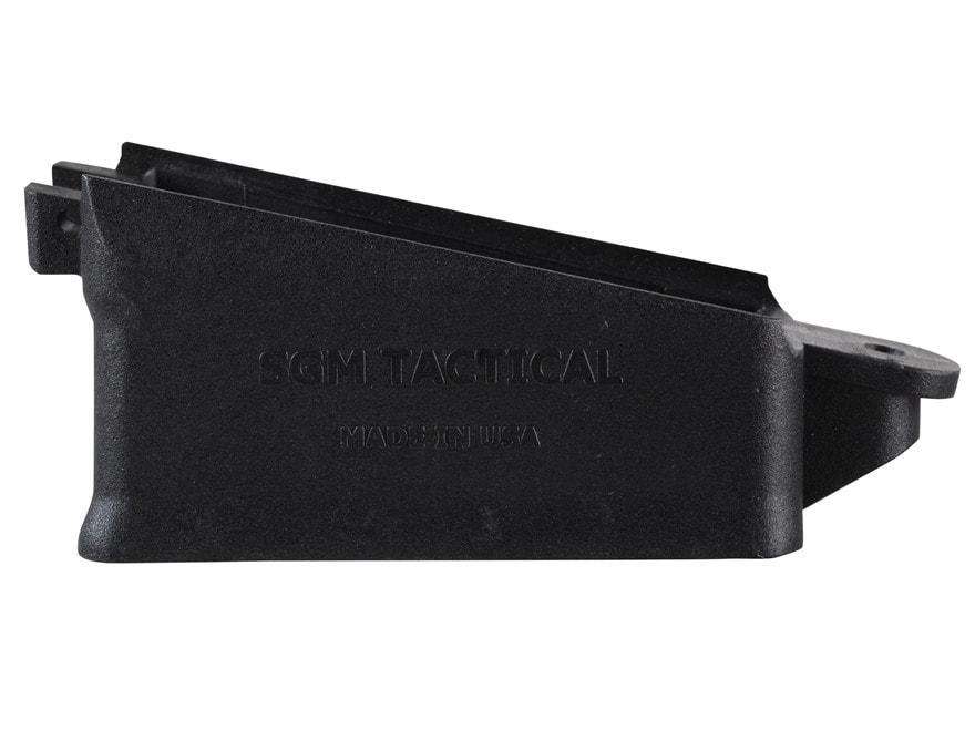 SGM Tactical Magazine Well Saiga 12 Gauge Polymer Black