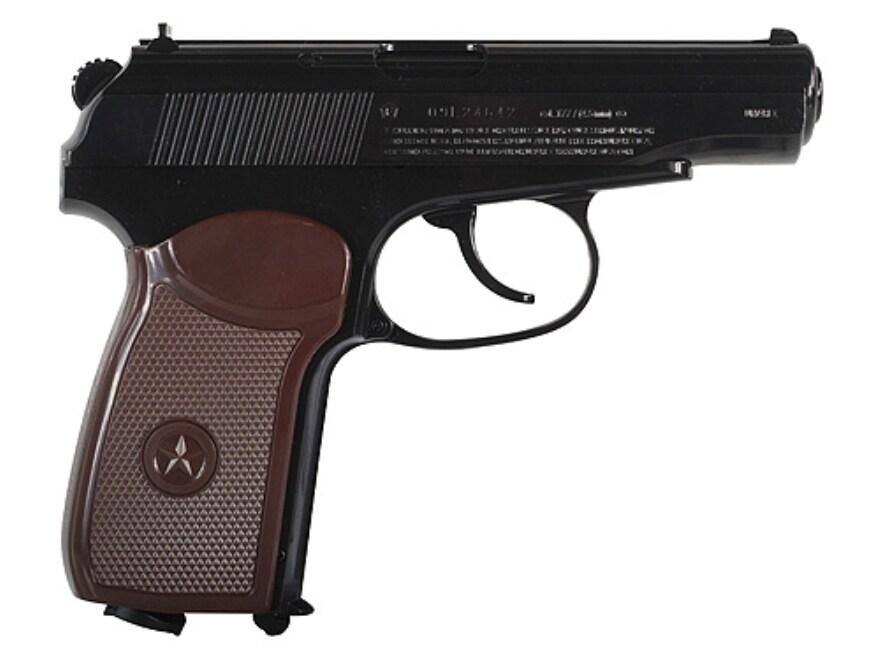 Makarov Air Pistol 177 Caliber BB Brown Matte Barrel