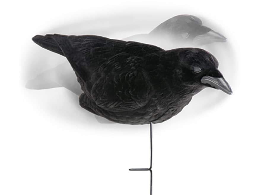 Lucky Duck Fully Flocked Crow Decoy Pack of 3