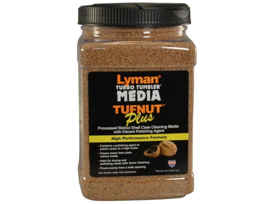 Lyman Turbo Brass Cleaning Media Treated Tufnut (Walnut) Box