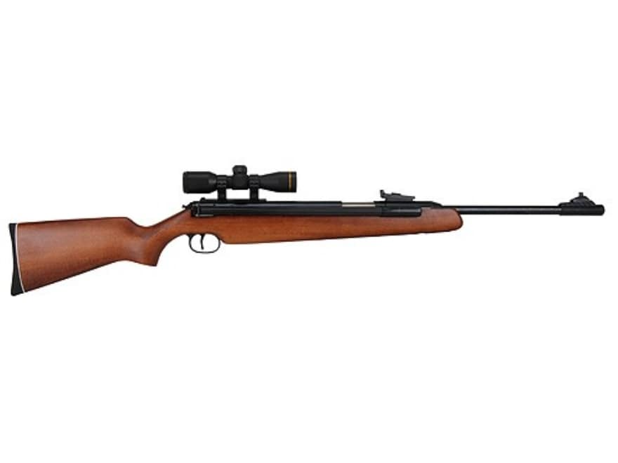 Rws side lever air rifle pellet wood stock blue barrel