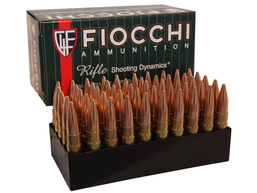 Fiocchi Shooting Dynamics Ammunition 300 AAC Blackout 150 Grain Full Metal Jacket Boat ...