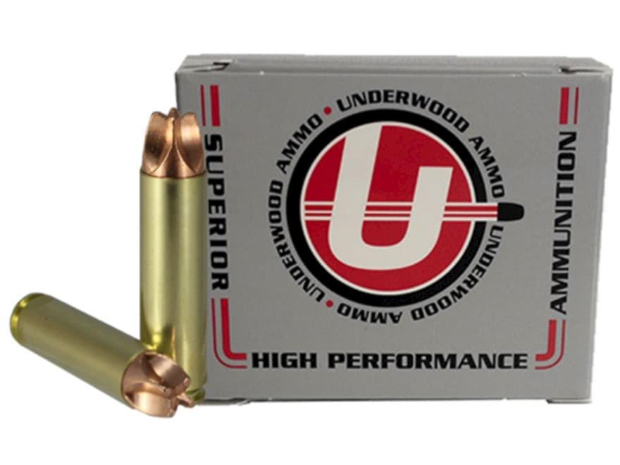 Underwood Xtreme Hunter Ammunition 45 Raptor 220 Grain Lehigh Xtreme Defense Lead-Free ...