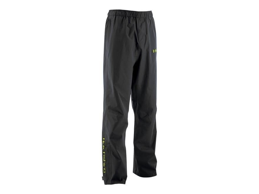 Huk Men's Waterproof Packable Rain Pants Polyester