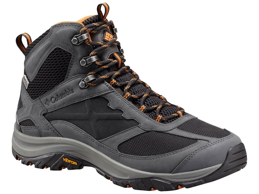 "Columbia Terrebonne Mid Outdry 5"" Waterproof Hiking Boots Leather/Nylon Men's"