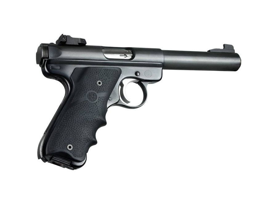 Hogue Wraparound Rubber Grips with Finger Grooves Ruger Mark II, III