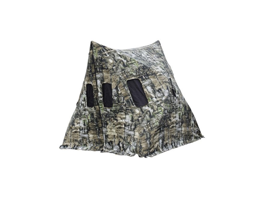 Primos Double Bull Shack Attack Ground Blind Cotton/Polyester Truth Camo