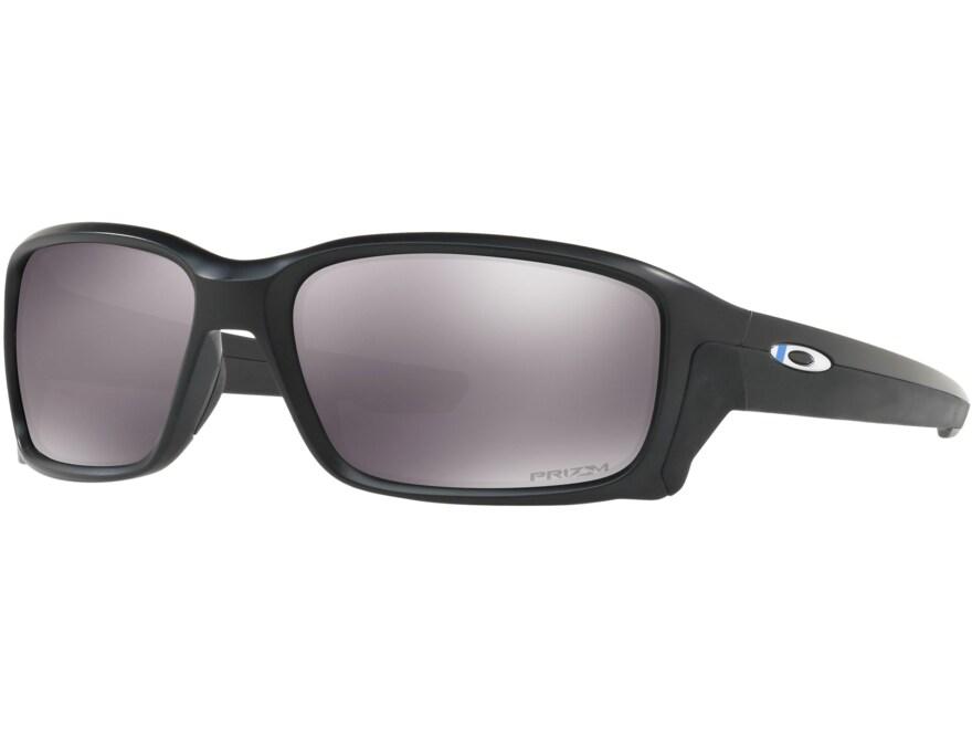 Oakley SI Straightlink Thin Blue Line Sunglasses Black Frame/Prizm Grey Lens