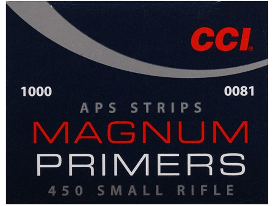 CCI Small Rifle APS Magnum Primers Strip #450