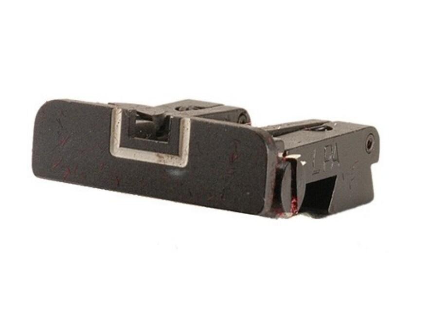 LPA TPU Rear Sight Sig Sauer P220, P226, P228, P229 Steel Blue White Outline