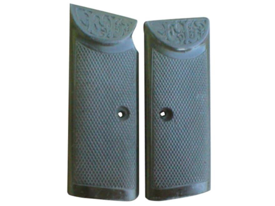 Vintage Gun Grips Langenhan 2 25 ACP Polymer Black