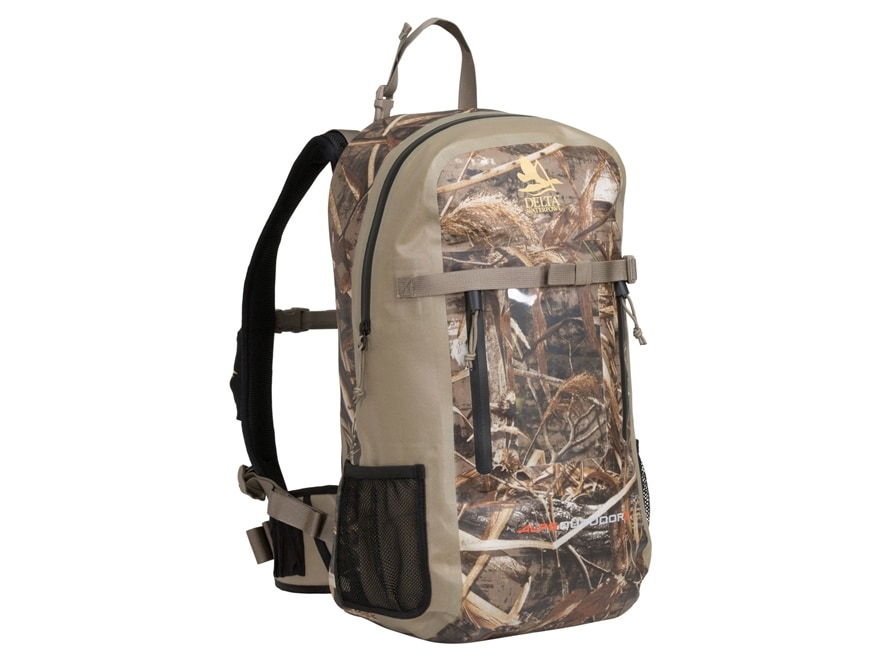 Delta Waterfowl Water-Shield Backpack Realtree Max-5 Camo
