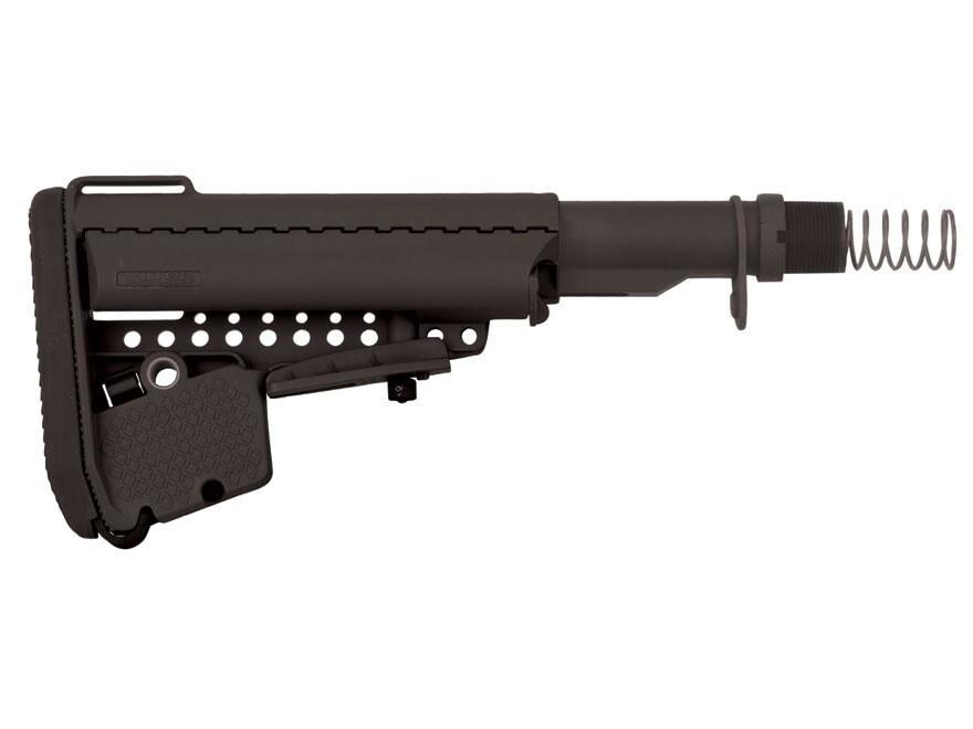 Vltor EMod Basic Stock Assembly 5-Position Mil-Spec Diameter Collapsible AR-15 Carbine ...