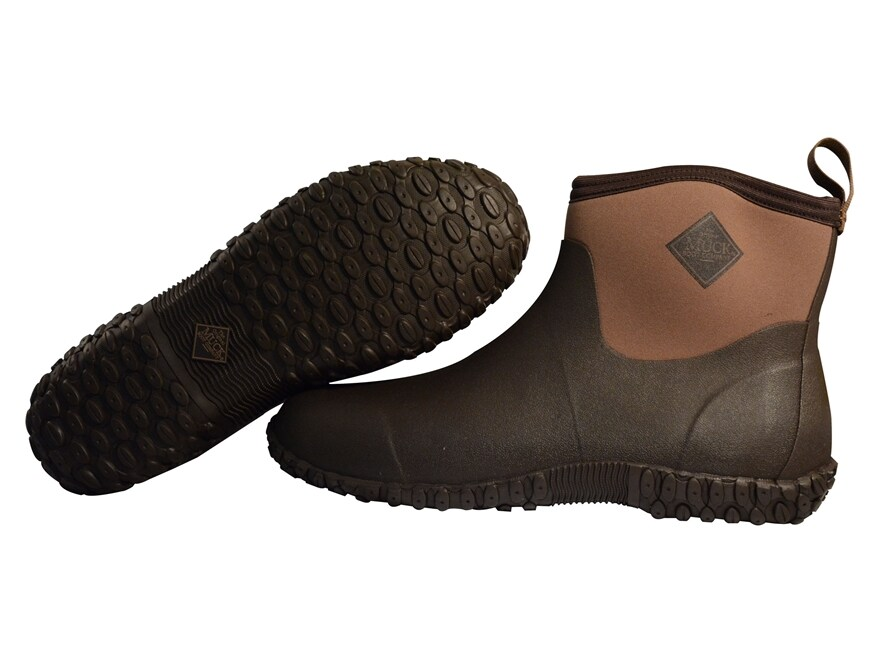 """Muck Muckster II 4"""" Hunting Shoes Rubber and Nylon Bark Men's"""