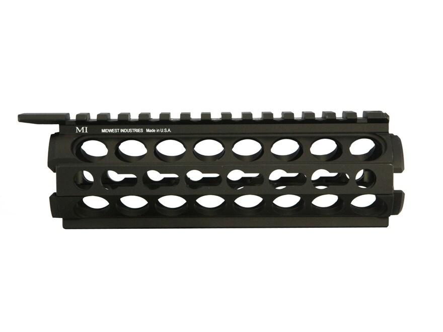 Midwest Industries K-Series 2-Piece KeyMod Handguard AR-15 Aluminum Black