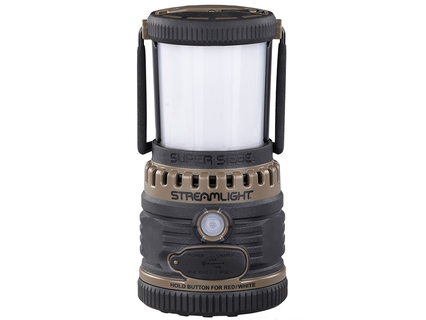 Streamlight Super Siege Lantern LED with Rechargeable Lithium Ion Battery Polymer