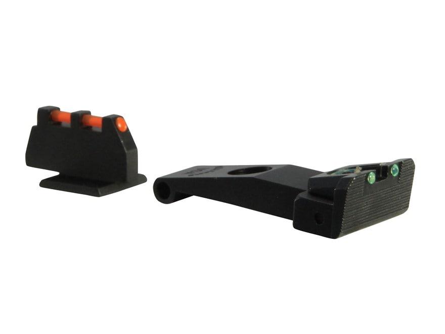 Williams Fire Sight Set Ruger SR9, SR40, SR9C, SR40C Fiber Optic Red Front, Green Rear