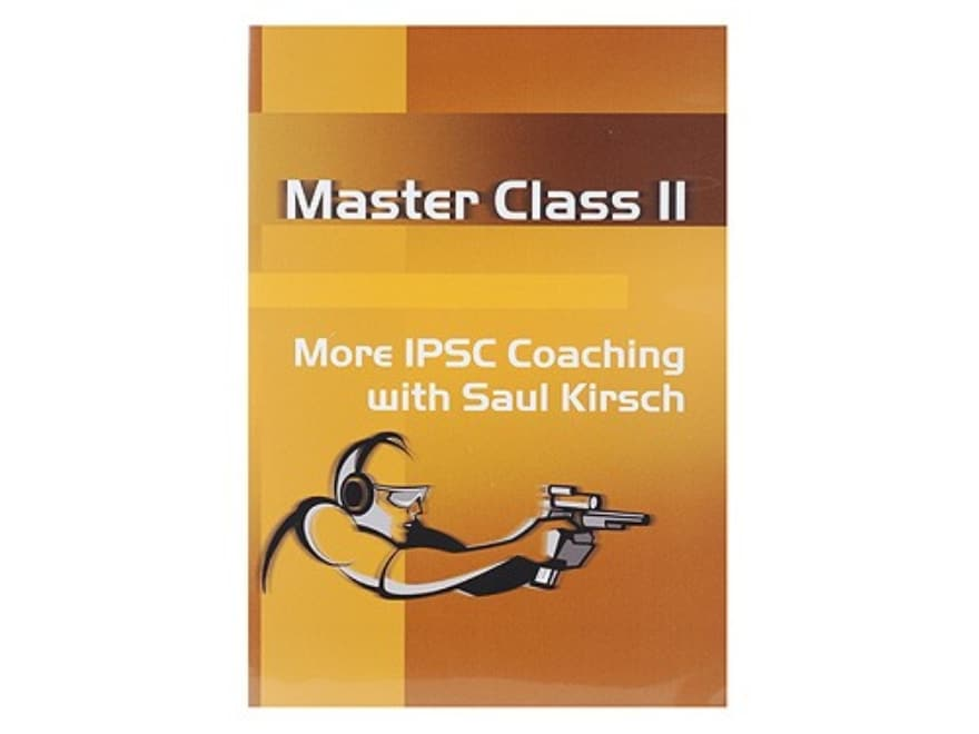 """CED Video """"Master Class 2: More IPSC Coaching with Saul Kirsch"""" DVD"""