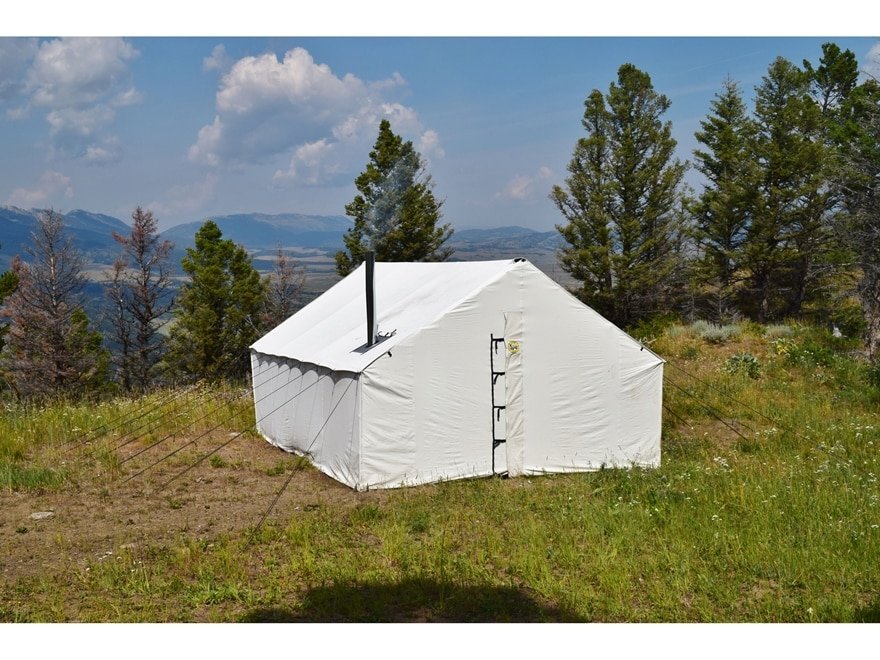 """Montana Canvas 16' x 20' Wall Tent with 5"""" Stove Jack"""