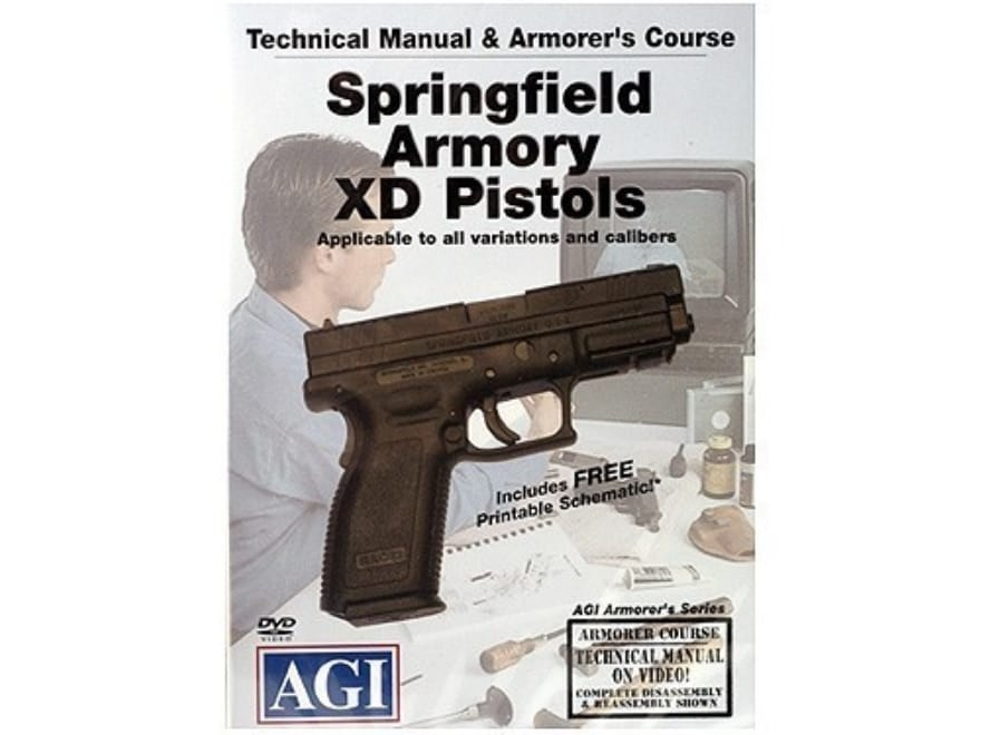 "American Gunsmithing Institute (AGI) Technical Manual & Armorer's Course Video ""Springf..."