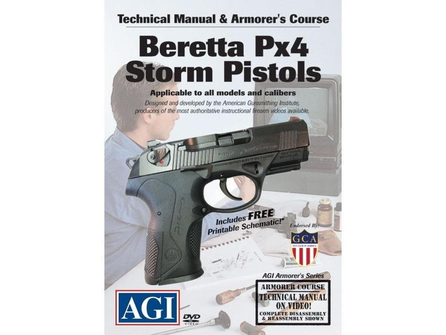 "American Gunsmithing Institute (AGI) Technical Manual & Armorer's Course Video""Beretta ..."