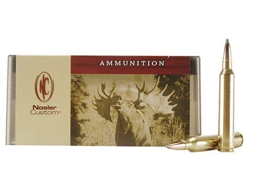 Nosler Custom Ammunition 7mm STW 150 Grain Partition Spitzer Box of 20