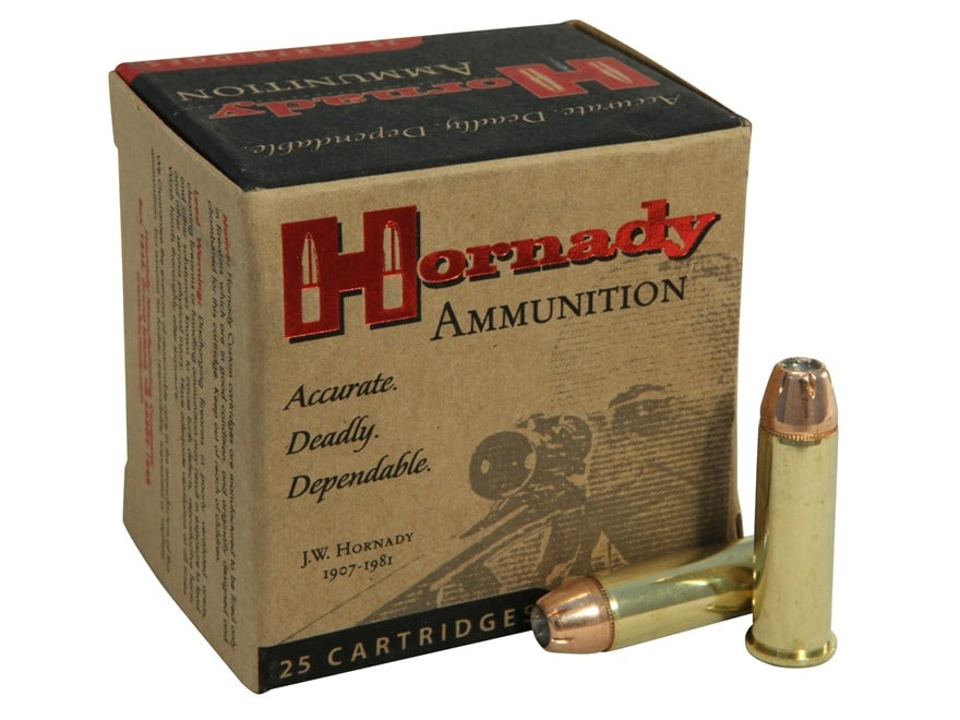 Hornady Custom Ammunition 38 Special 158 Grain XTP Jacketed Hollow Point Box of 25