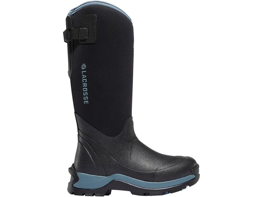 "LaCrosse Alpha Thermal 14"" Waterproof 7mm Insulated Work Boots Neoprene/Rubber Women's"