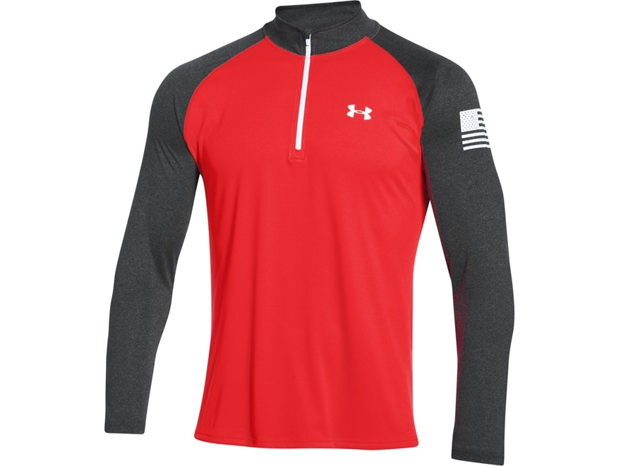 Under Armour Men 39 S Ua Freedom Tech 1 4 Zip Shirt Upc