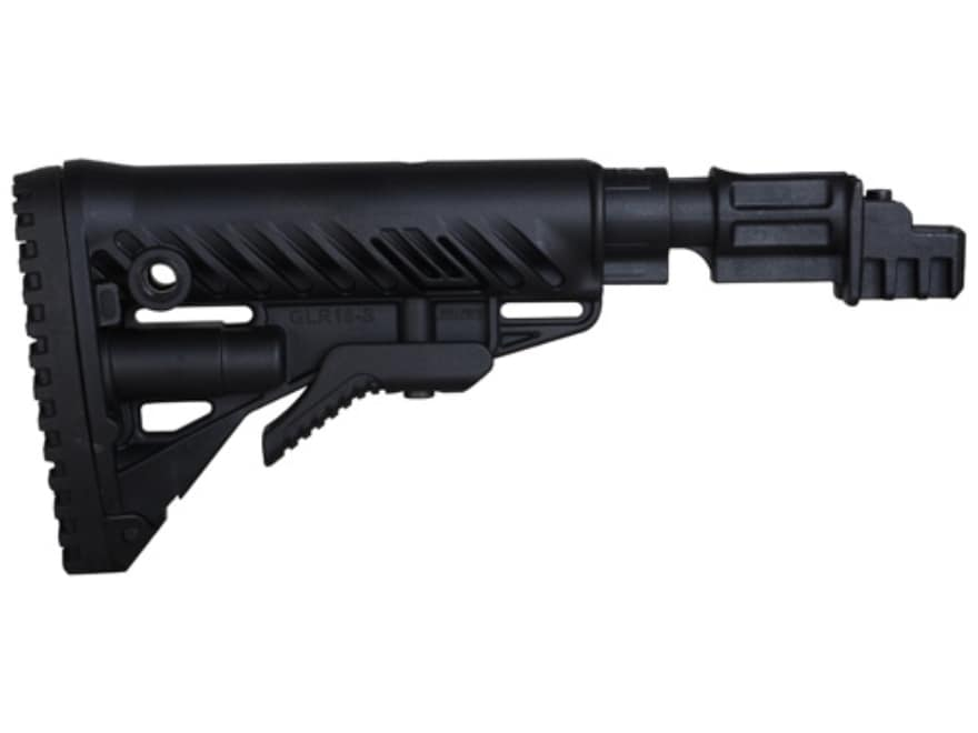 FAB Defense Recoil Reducing Collapsible Buttstock Assembly AK-47, AK-74 Polymer