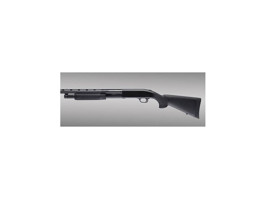 Hogue Rubber OverMolded Stock and Forend Mossberg 500 12 Gauge Synthetic Black