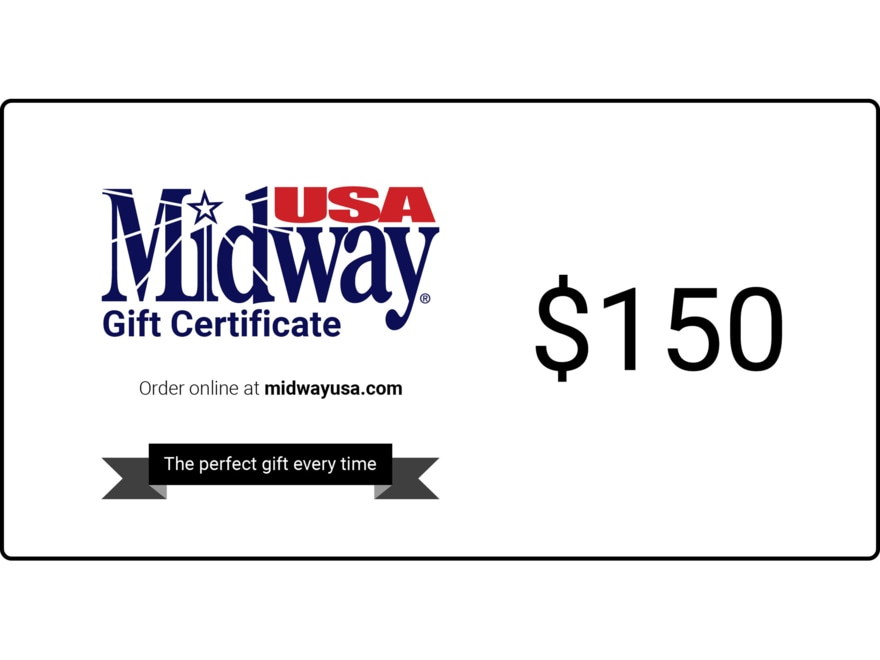 Buying a gift card for MidwayUSA on Giftly is like sending money with a suggestion to go to MidwayUSA. It's like sending a MidwayUSA gift card or MidwayUSA gift certificate but the recipient has the flexibility to use the gift card where they'd like/5(90).