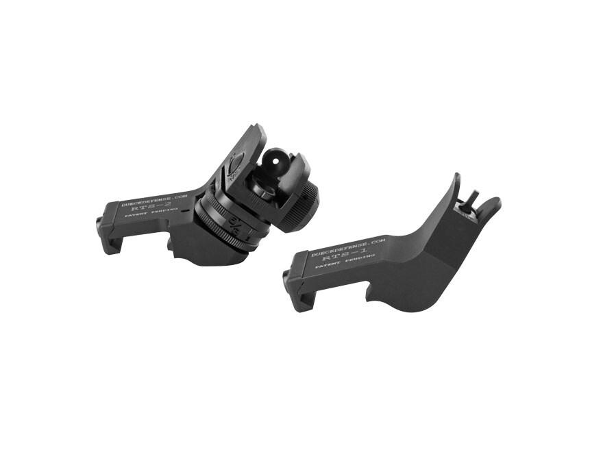 Surefire Rapid Transition Sight Offset Sight Set AR-15 Aluminum Matte