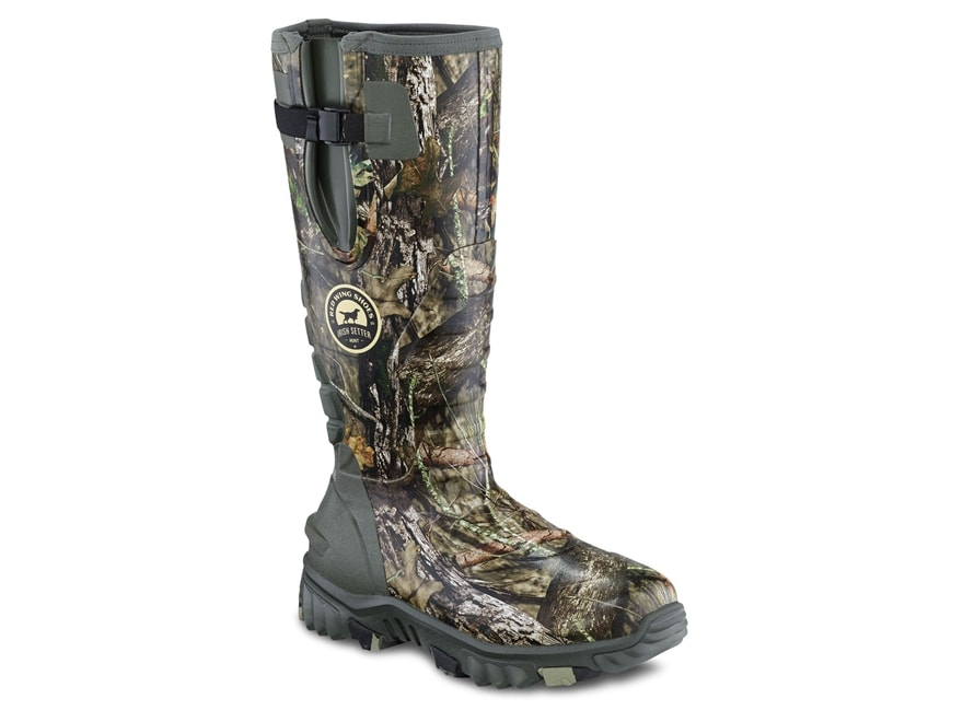 "Irish Setter Rutmaster 2.0 17"" Waterproof 1200 Gram Insulated Hunting Boots Rubber Clad..."