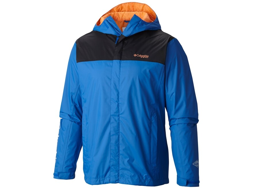 Columbia Men's PFG Storm Waterproof Rain Jacket Nylon