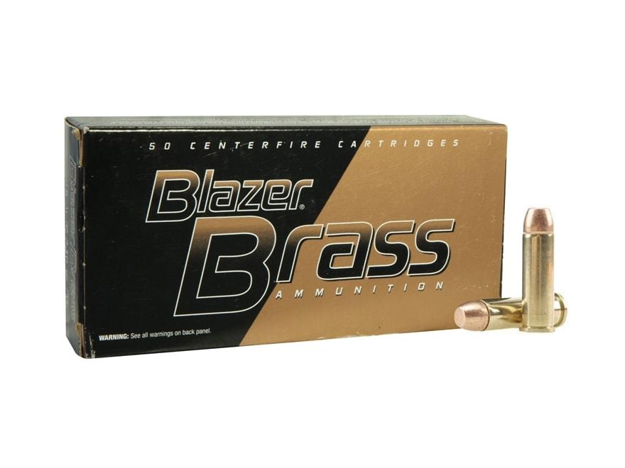 Blazer Brass Ammunition 38 Special 125 Grain Full Metal Jacket