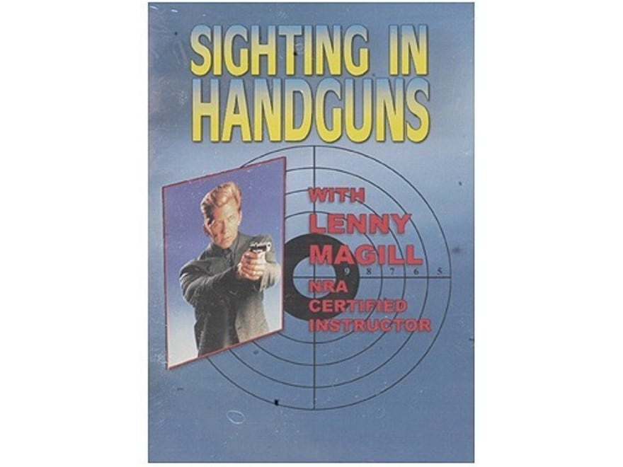 "Gun Video ""Sighting in Handguns"" DVD"