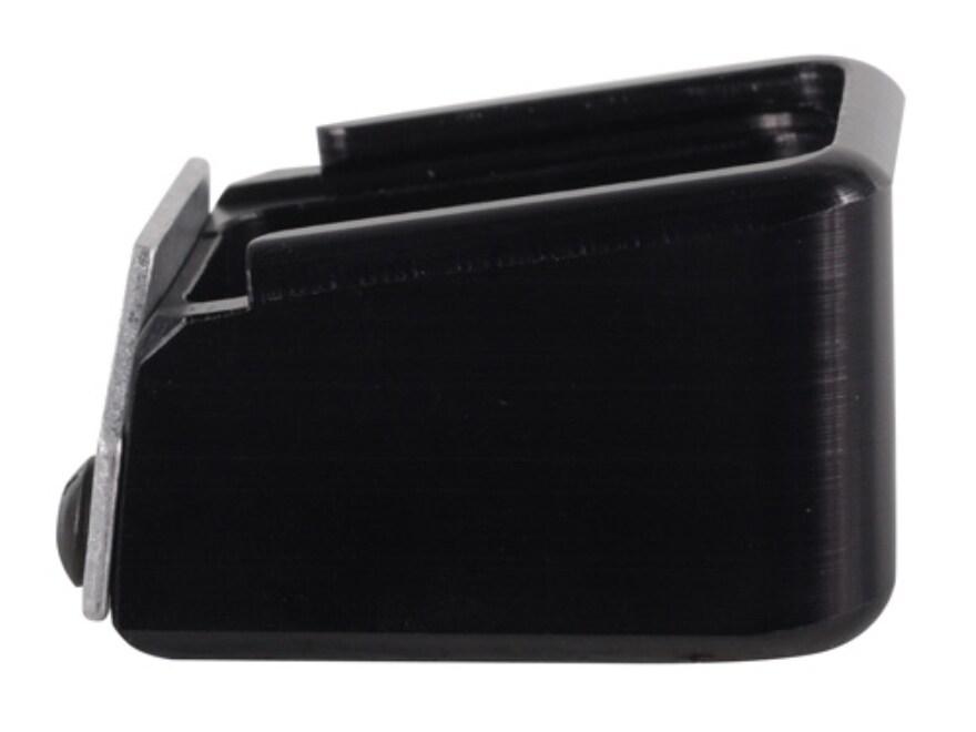 Taylor Freelance Extended Magazine Base Pad CZ Tactical Sports +2.5 Aluminum Black