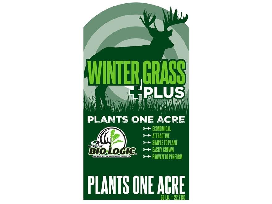 BioLogic Winter Grass Plus Annual Food Plot Seed 50 lb