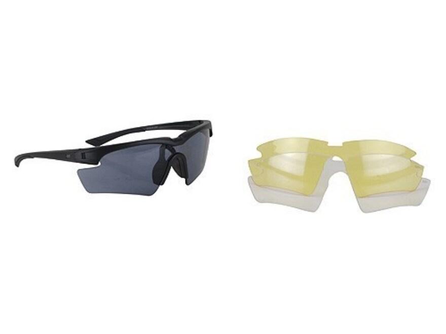 5.11 Eagle Shooting Glasses Smoke Amber Clear Lenses - MPN: 52308