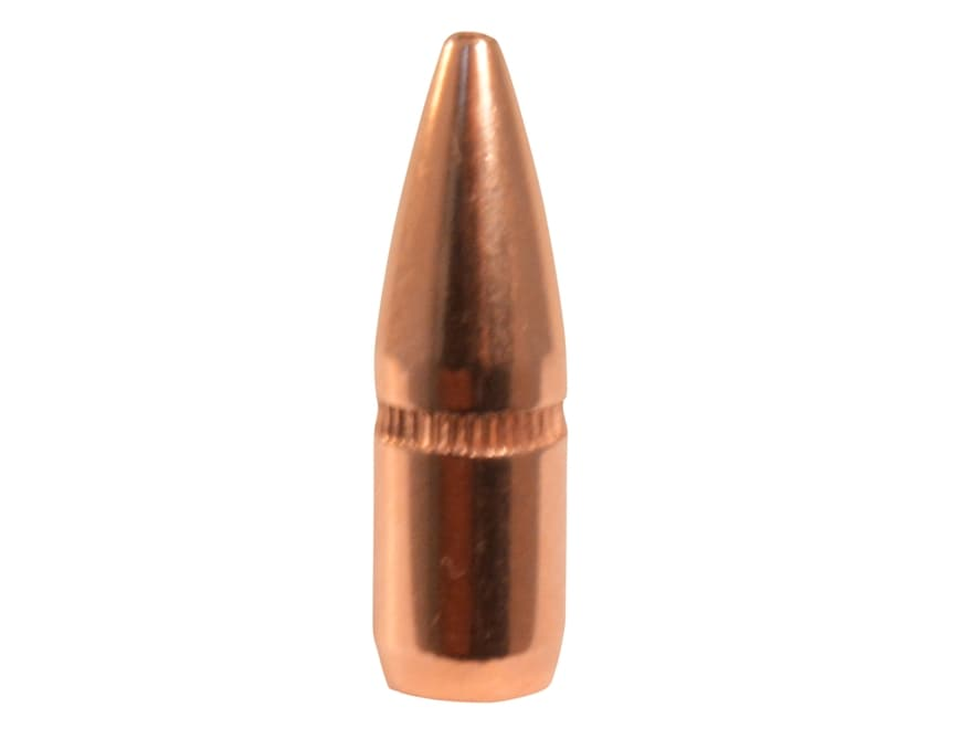 Hornady Bullets 22 Caliber (224 Diameter) 55 Grain Hollow Point Boat Tail With Cannelure
