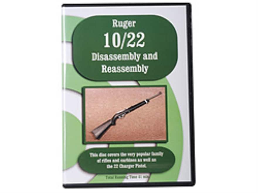 """""""Ruger 10/22 Disassembly & Reassembly"""" DVD"""