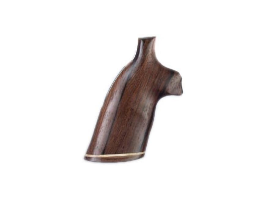Hogue Fancy Hardwood Grips with Accent Stripe Colt Diamondback