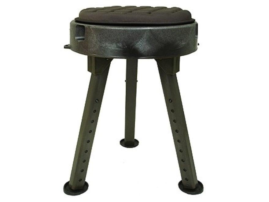 Quake Bull Seat All Terrain Hunting Blind Stool Chair