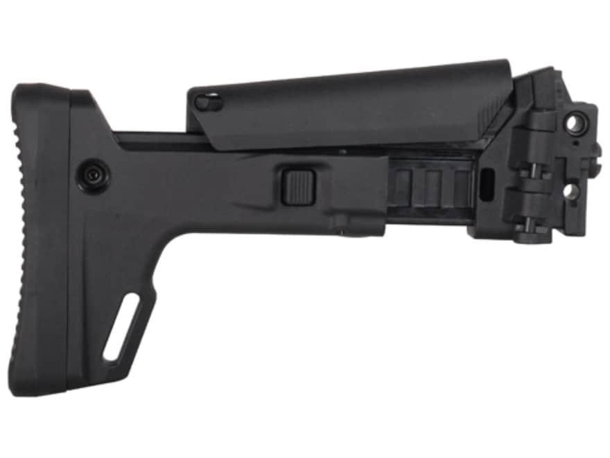 Bushmaster Enhanced 7-Position Telescoping Side Folding Buttstock Bushmaster ACR Synthetic