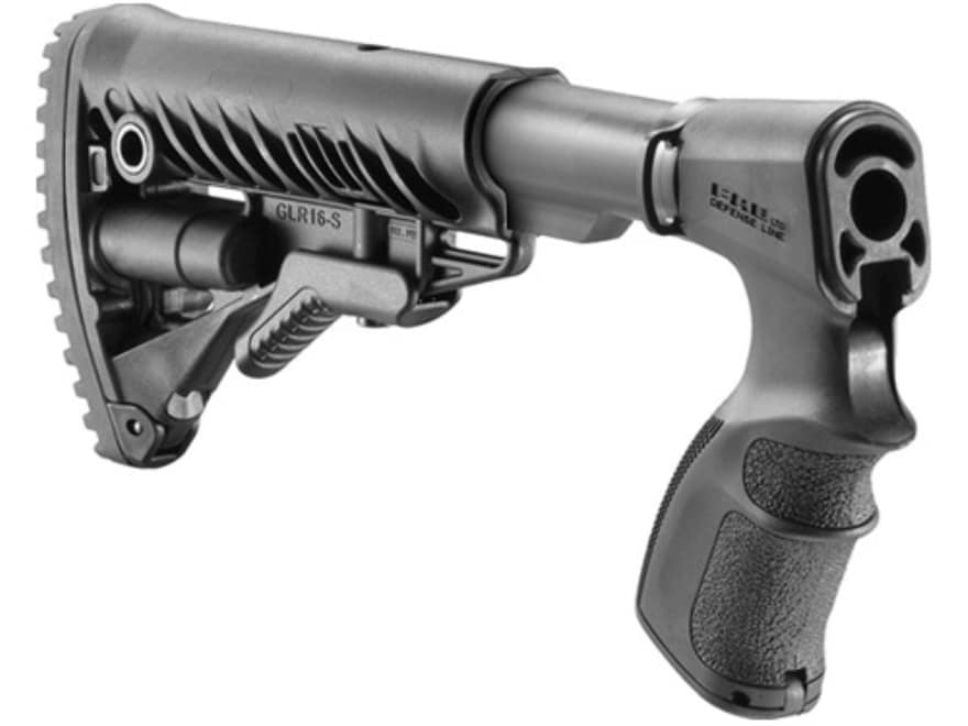 FAB Defense M4-Style Collapsible Buttstock Remington 870 Synthetic Black