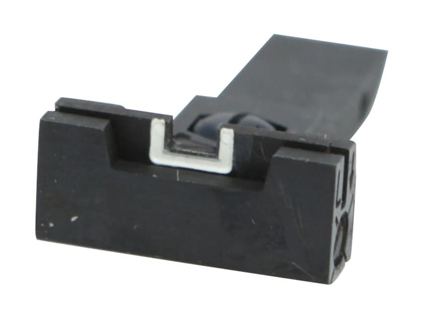 Kensight Adjustable Rear Sight Elliason Cut Steel Black Accro-Style Square Blade with W...